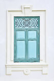 Perforated design of a window Stock Photos