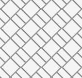 Perforated diagonal bricks Stock Images