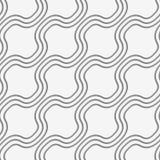 Perforated diagonal bulging waves Stock Image