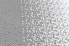 Perforated facade. Is one of the details on Benz Museum Royalty Free Stock Photo