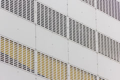 Perforated facade Stock Photos