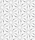 Perforated floral leafy shapes flower Stock Photo