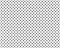Perforated holes. Seamless metal grille. Wire fence isolated on black background. Circle pattern.  stock illustration
