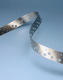 Perforated Industrial Belt Stock Photo