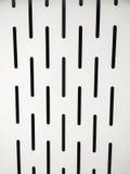 Perforated iron sheet Stock Image