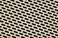 Perforated metal Royalty Free Stock Photo
