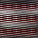 Perforated metal background Royalty Free Stock Photos