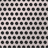 Perforated metal background. Background made of a perforated metal sheet vector illustration
