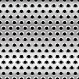 Perforated Metal Background. Punched Metal with Circles. Eps 10 Vector Illustration of Perforated Metal Background. Punched Metal with Circles Stock Images