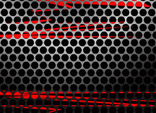 Perforated metal background Stock Photography