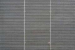 Perforated Metal Building Facade Screen Royalty Free Stock Photography