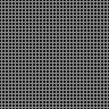 Perforated metal chrome, steel, iron, silver texture seamless pattern background. Stock Photos