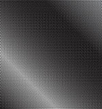 Perforated metal. Perforated grey technology background with diagonal gradient Royalty Free Stock Image