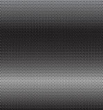 Perforated metal. Perforated grey technology background with horizontal gradient Royalty Free Stock Photography