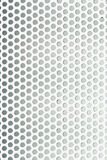 Perforated metal grid texture Royalty Free Stock Photos