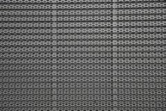 Perforated metal panel. Metal background Stock Photography