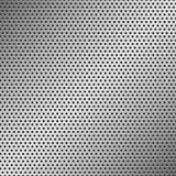 Perforated Metal Pattern Stock Photo