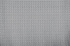 Perforated metal plate Stock Photos