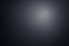 Perforated metal plate Royalty Free Stock Photo