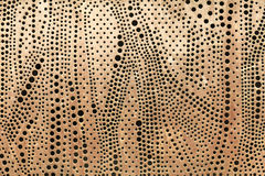Perforated metal sheet Royalty Free Stock Image