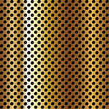 Perforated metal surface Stock Photography