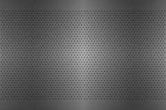 Perforated metal texture, aluminium grating, abstract background Royalty Free Stock Photos