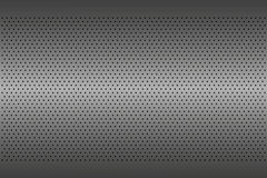 Perforated metal texture, aluminium grating, abstract background Stock Photo