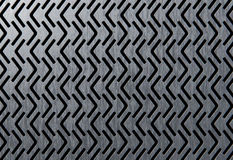 Perforated metalic panel Royalty Free Stock Image