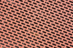 perforated metall Royaltyfri Bild