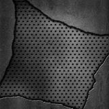 Abstract perforated metal background Royalty Free Stock Photo