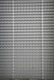 perforated metallpanel Royaltyfria Bilder