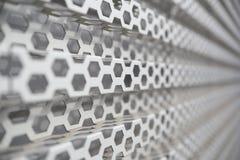 perforated metallpanel Arkivfoton