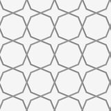 Perforated octagons forming stars Stock Photos