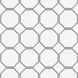 Perforated octagons in row Stock Images