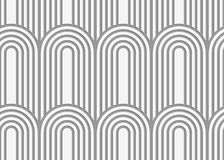 Perforated paper with arks on continues stripes Stock Image
