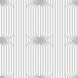 Perforated paper with ties on continues lines Royalty Free Stock Photo
