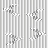 Perforated paper with uneven ties on continues lines Stock Photo