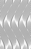 Perforated paper with wavy striped shapes Stock Photos