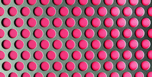 Perforated Pink Texture Stock Image