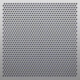 Perforated plastic background Stock Image