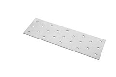 Perforated plates. Perforated plate isolated on white background Royalty Free Stock Photography