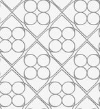 Perforated squares and circles Stock Photography