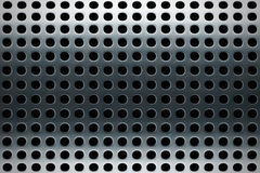 Perforated stainless steel texture Stock Photo