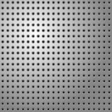 Perforated steel Stock Image