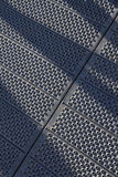 Perforated steel plates Stock Photography