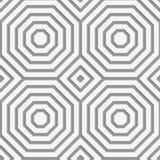 Perforated striped восьмиугольники формируя квадраты Стоковые Изображения RF