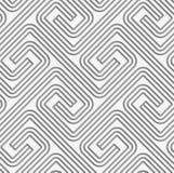 Perforated striped квадратные прикрепленные спирали Стоковое фото RF