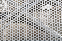Perforated structure detail Stock Image
