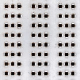 Perforated texture Royalty Free Stock Photo