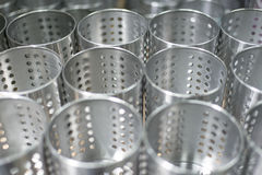 Perforated Utensil Holder Stock Photography